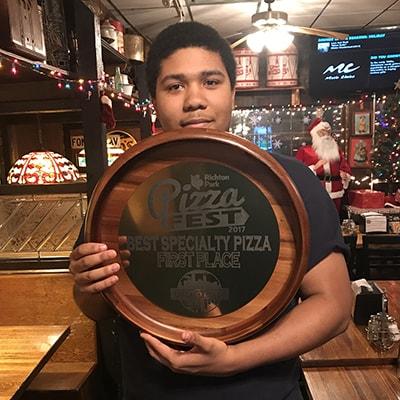 2017 Best Specialty Pizza